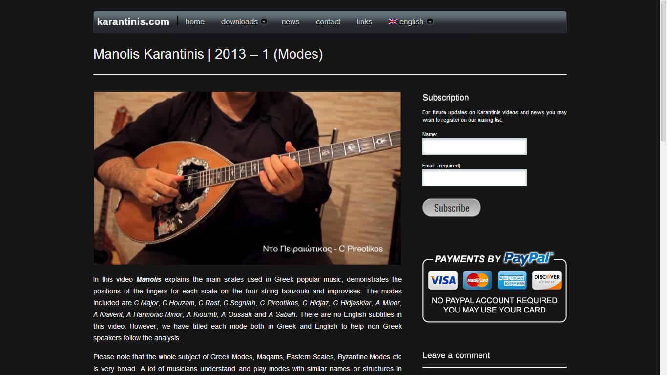 karantinis.com